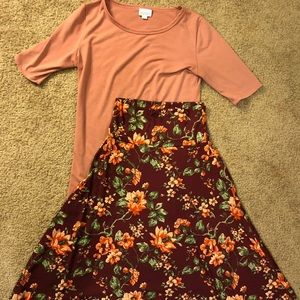 Lularoe Azure and Gigi Outfit Set